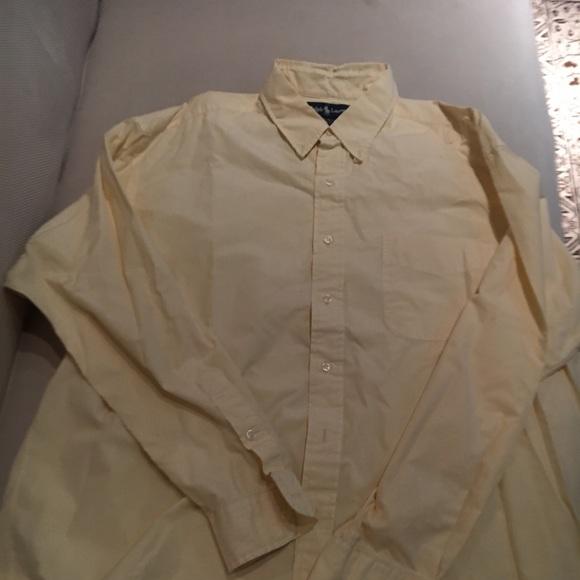 Polo by Ralph Lauren Other - Ralph Lauren button down shirt light yellow